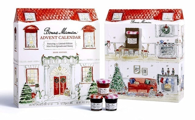 Bonne Maman Limited Edition Advent Calendar With Mini Fruit Spreads and Honey 1