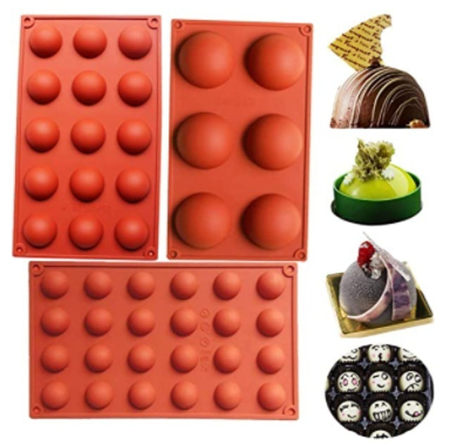 Baker Depot Silicone Chocolate Mold 1