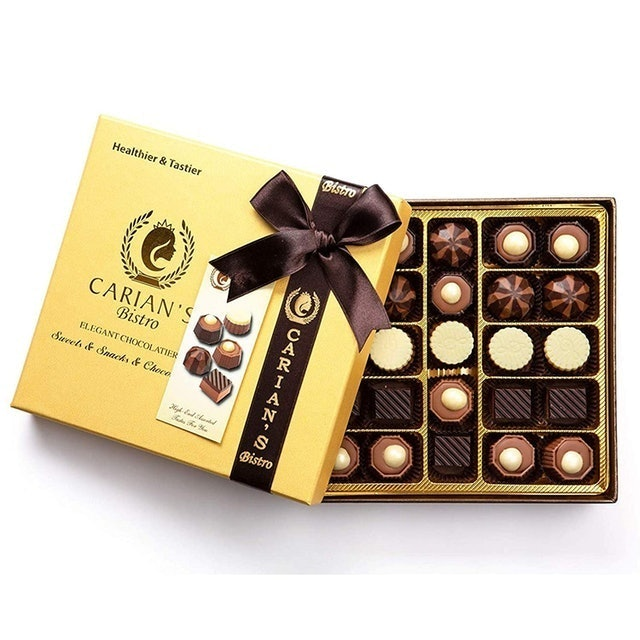 Carian's Bistro Gold Chocolate Gift Box 1
