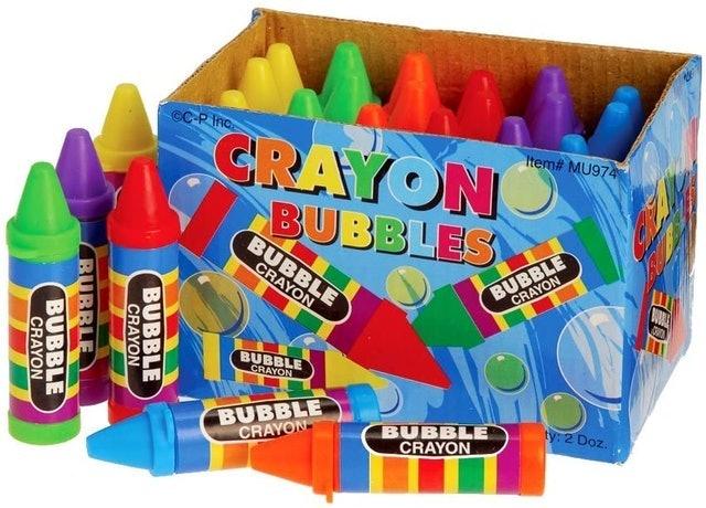 U.S. Toy Crayon Bubbles 1