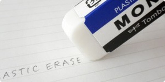 Get an Eraser That Won't Make You Roll up Your Sleeves and Scrub