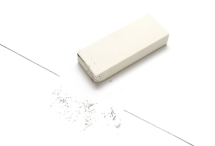 Choose an Eraser That's Easier to Clean Up