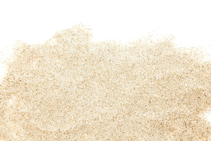 If You Don't Want It Flying out of the Box, Look for Bigger Grains: Sand