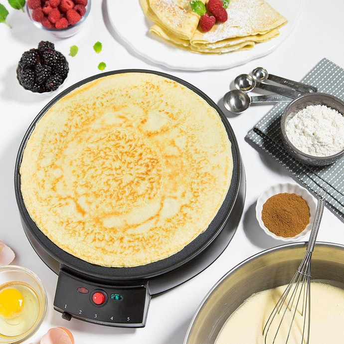 Electric: Even Heat and Great for Crepe Lovers