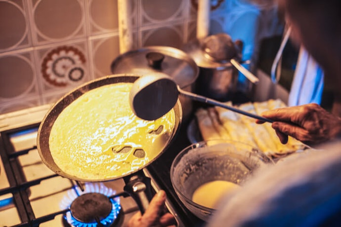 If Your Crepes Don't Turn Out Right, Don't Panic! Try These Tips
