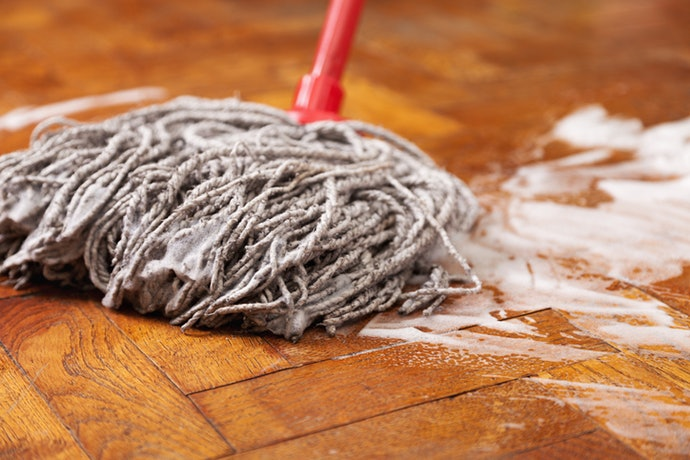 String Mops Are Scrubby and Cover a Large Area