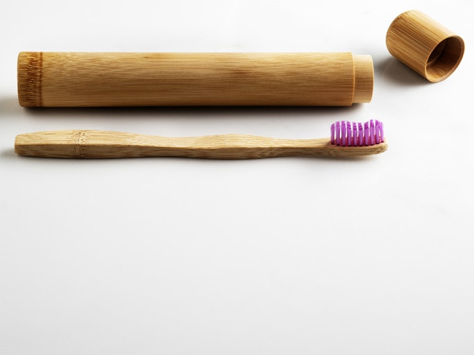 If You Travel, Look for a Brush with an Included (Eco-Friendly) Case