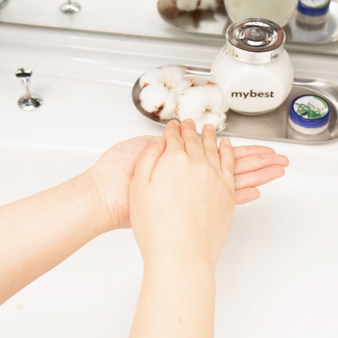 Warm the Cleansing Milk up in Your Hands First