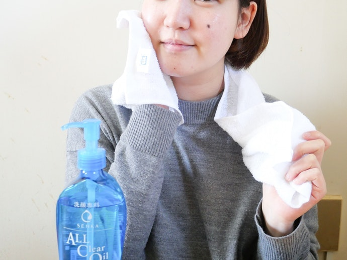 Skin Stays Hydrated, Even After Double-Cleansing