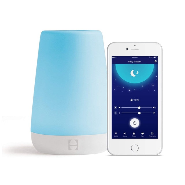 5. Hatch Baby Rest Sound Machine, Night Light, and Time-to-Rise 1