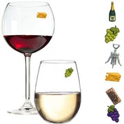Top 10 Best Charms for Wine Glasses in 2021 (Trudeau, Twine, and More)