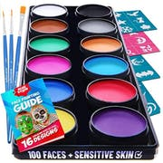 Top 10 Best Face Paint Kits in 2020 (CCBeauty, Mehron, and More)