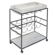 Top 10 Best Rolling Bar Carts in 2021 (Gracie Oaks, Christopher Knight Home, and More)